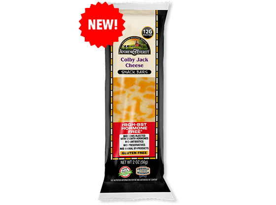 Colby Jack Snack Sticks Multi Pack 8ct – Andrew & Everett Cheese